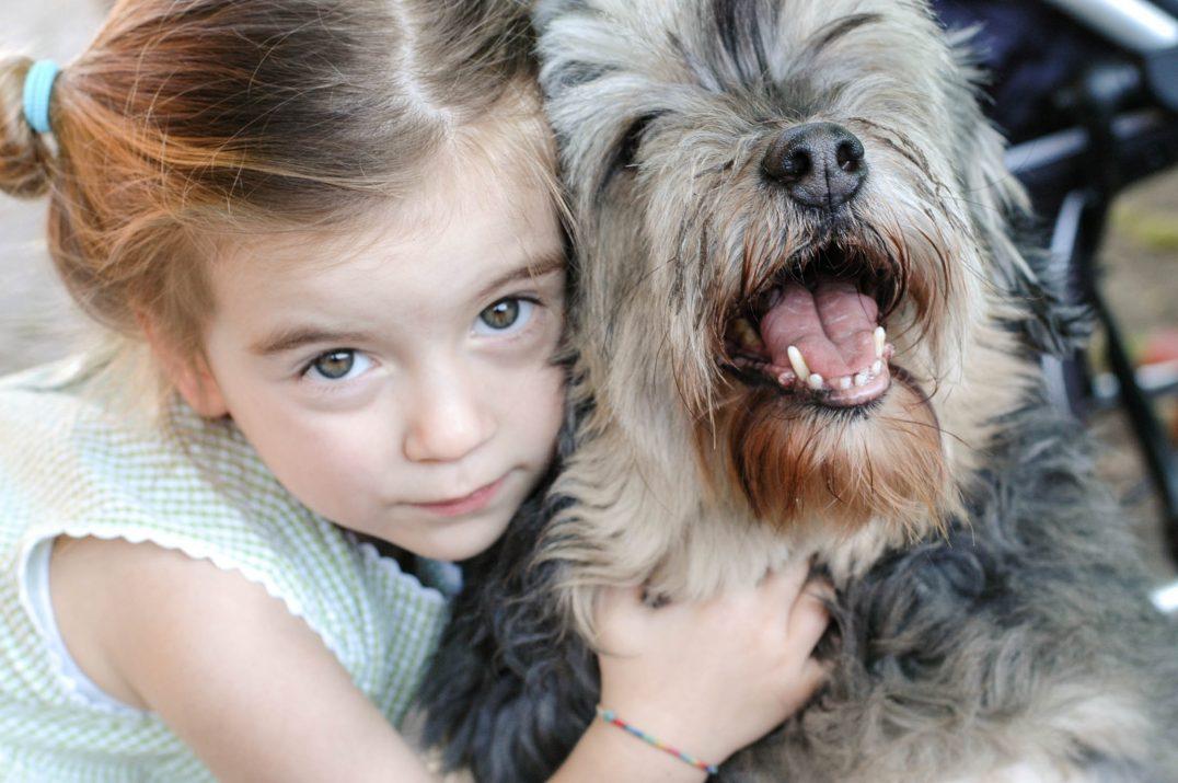 un cane per figlio Ninakina