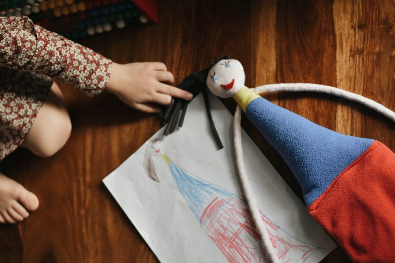 ninakina - disegni dei bambini si trasformano in pupazzi