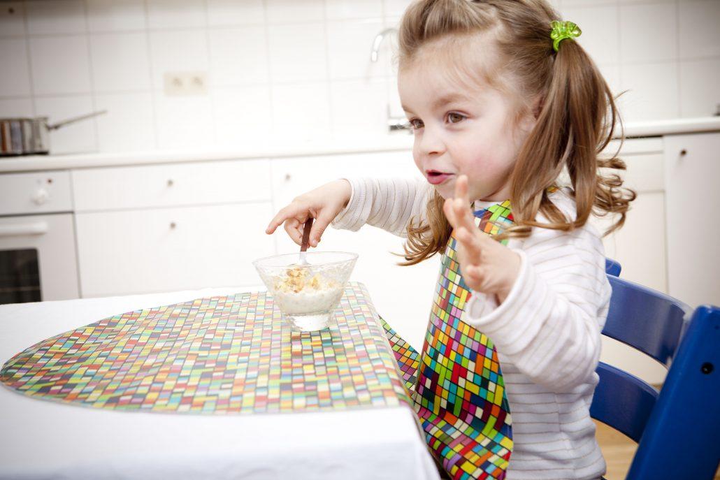 maxi bavaglia per bambini cerata