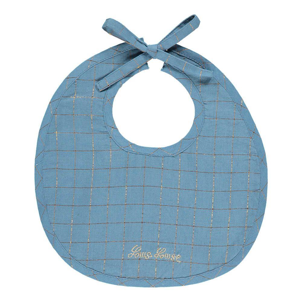 bavaglino per neonati in cotone e lurex