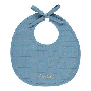 bavaglini per neonati in cotone e lurex