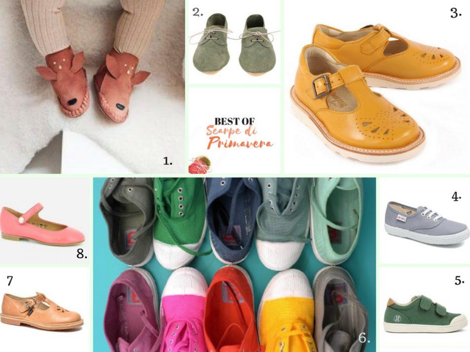scarpe primavera bambini