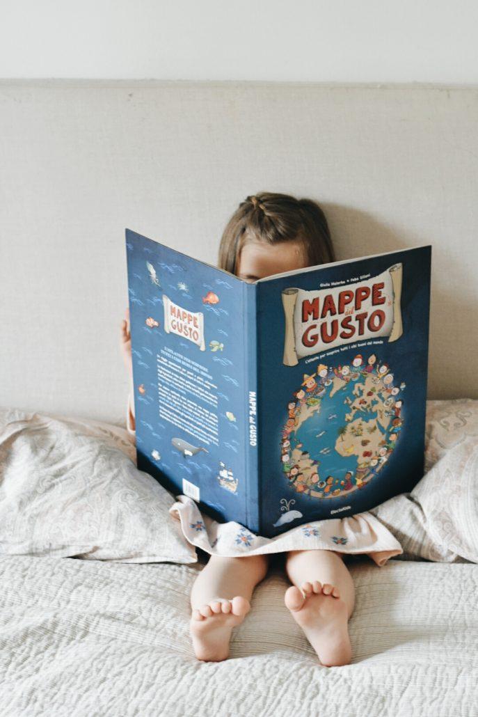 mappe del gusto - mondadori - libri per bambini