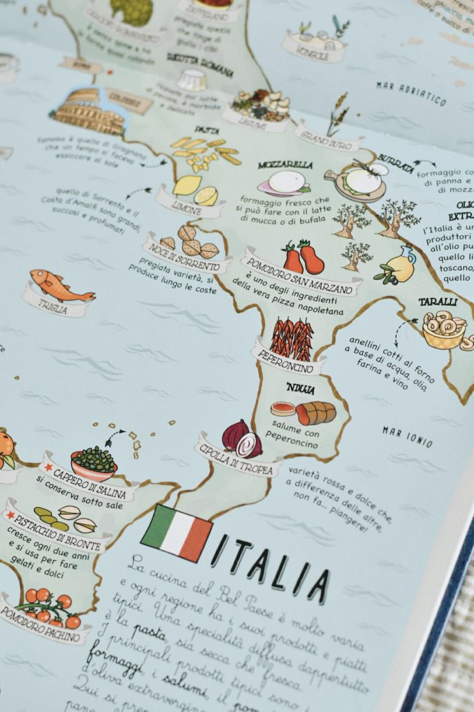 libro illustrato mappe per ragazzi
