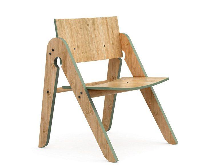 sedia bambù design