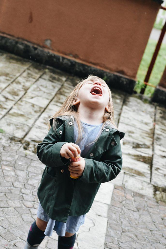 abbigliamento pioggia per bambini