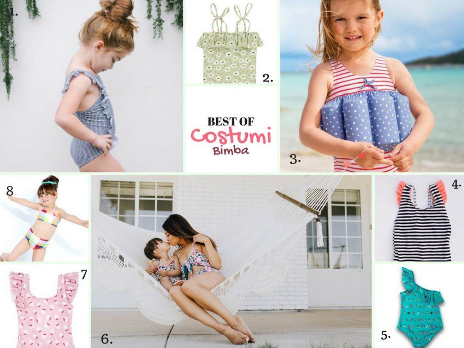 costumi per bimba mare