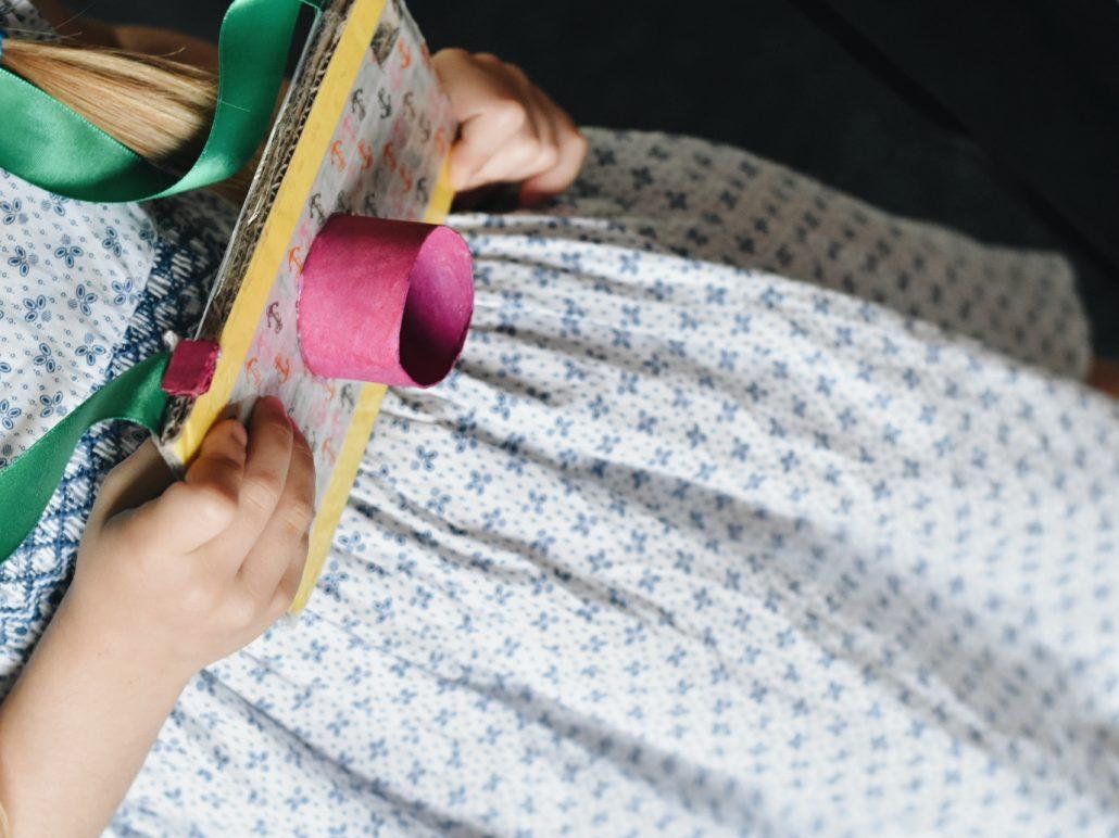 matchy matchy abbigliamento bimba macchina fotografica cartone diy per bambini