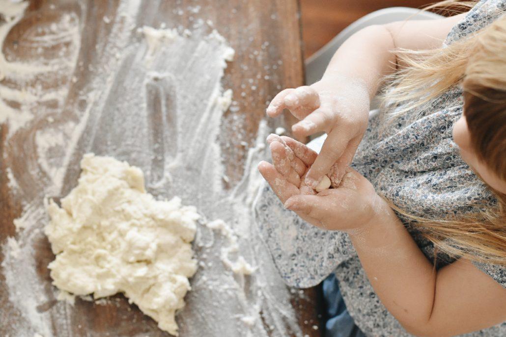 pasta di sale, lavoretti creativi per bambini