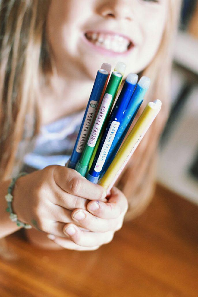 etichette adesive personalizzate per bambini