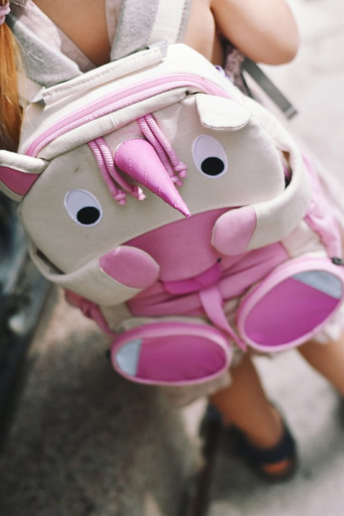 zainetto bambina unicorno rosa