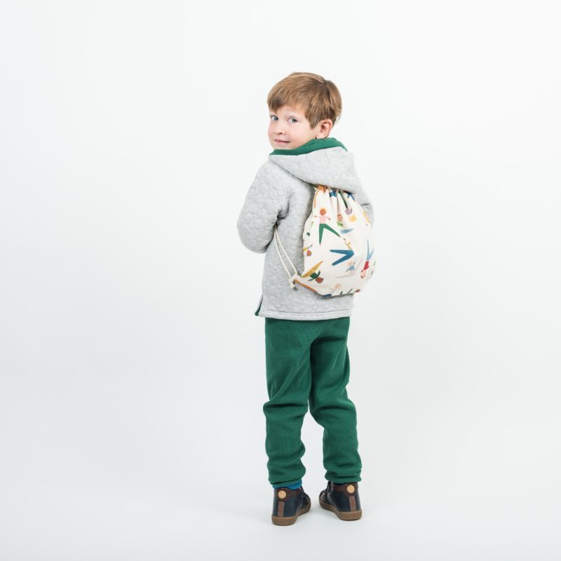 abbigliamento double face bambini