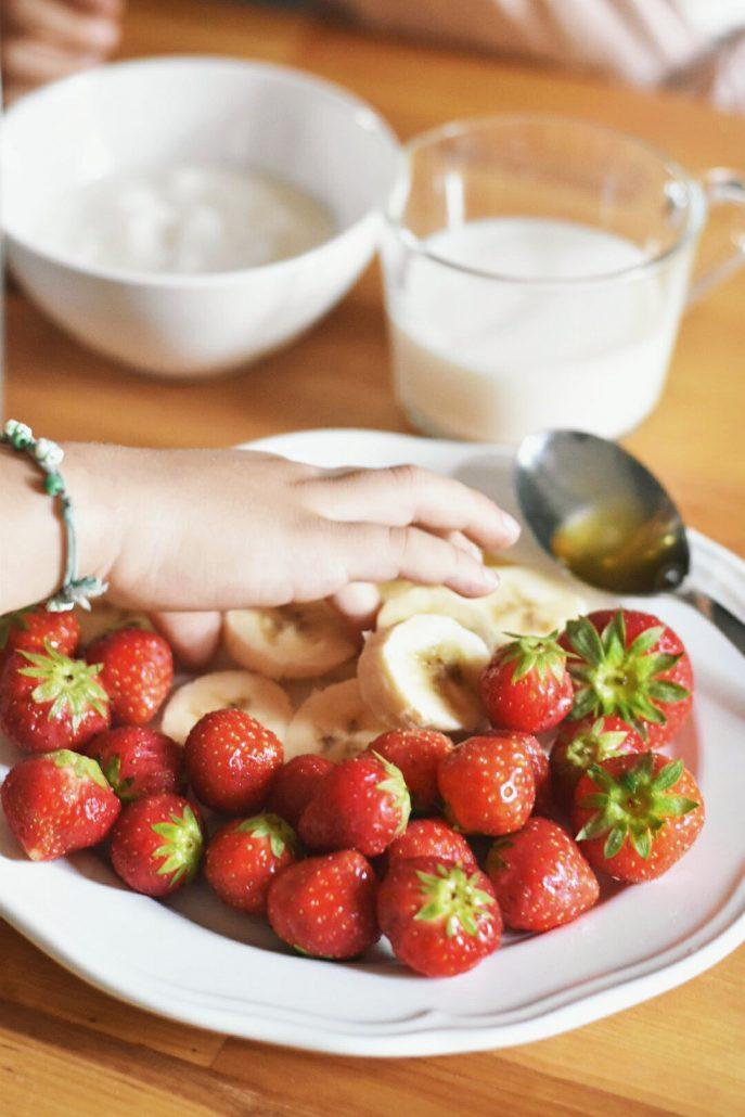frullato di frutta per bambini