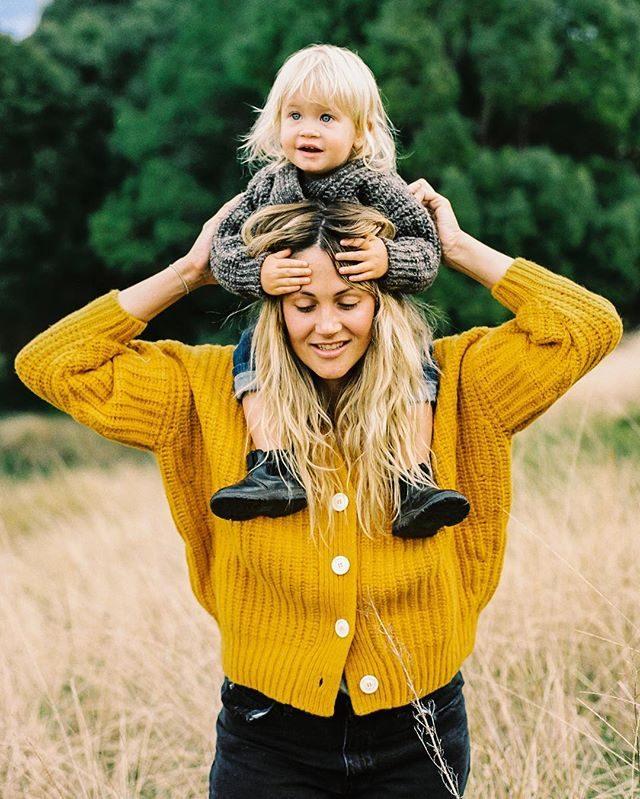 golf maglia lana mini me mamma bambini