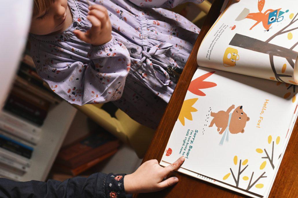 libri in inglese per bambini illustrazioni fatte a mano