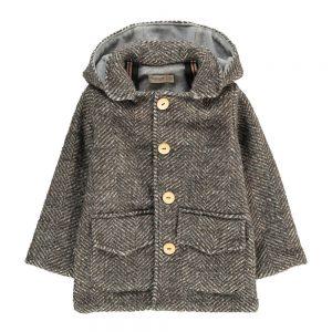 appotto in lana con cappuccio per bambini in saldo