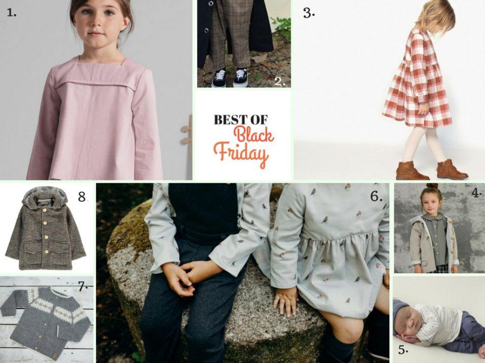selezione abbigliamento bambini in saldo per black friday online
