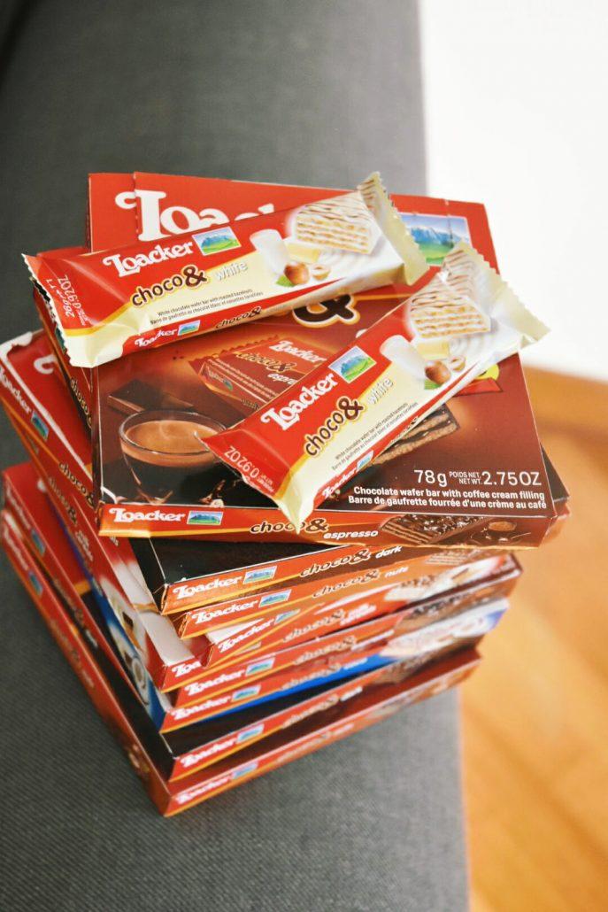 loacker snack choco& merendaper bambini