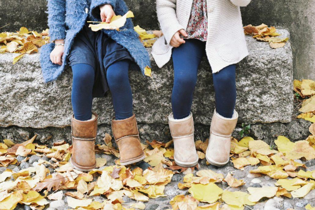 scarpe mamma e bimba uguali per l'autunno