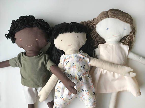 regalo di natale per bambini bambola personalizzata a scelta