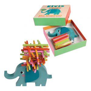 elefante colorato gioco legno per bambini