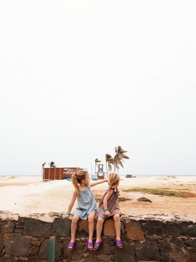 vacanze con bambini nell isola di sal a capo verde
