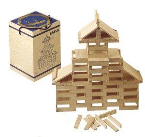idea regalo per bambini costruzioni in legno Kapla