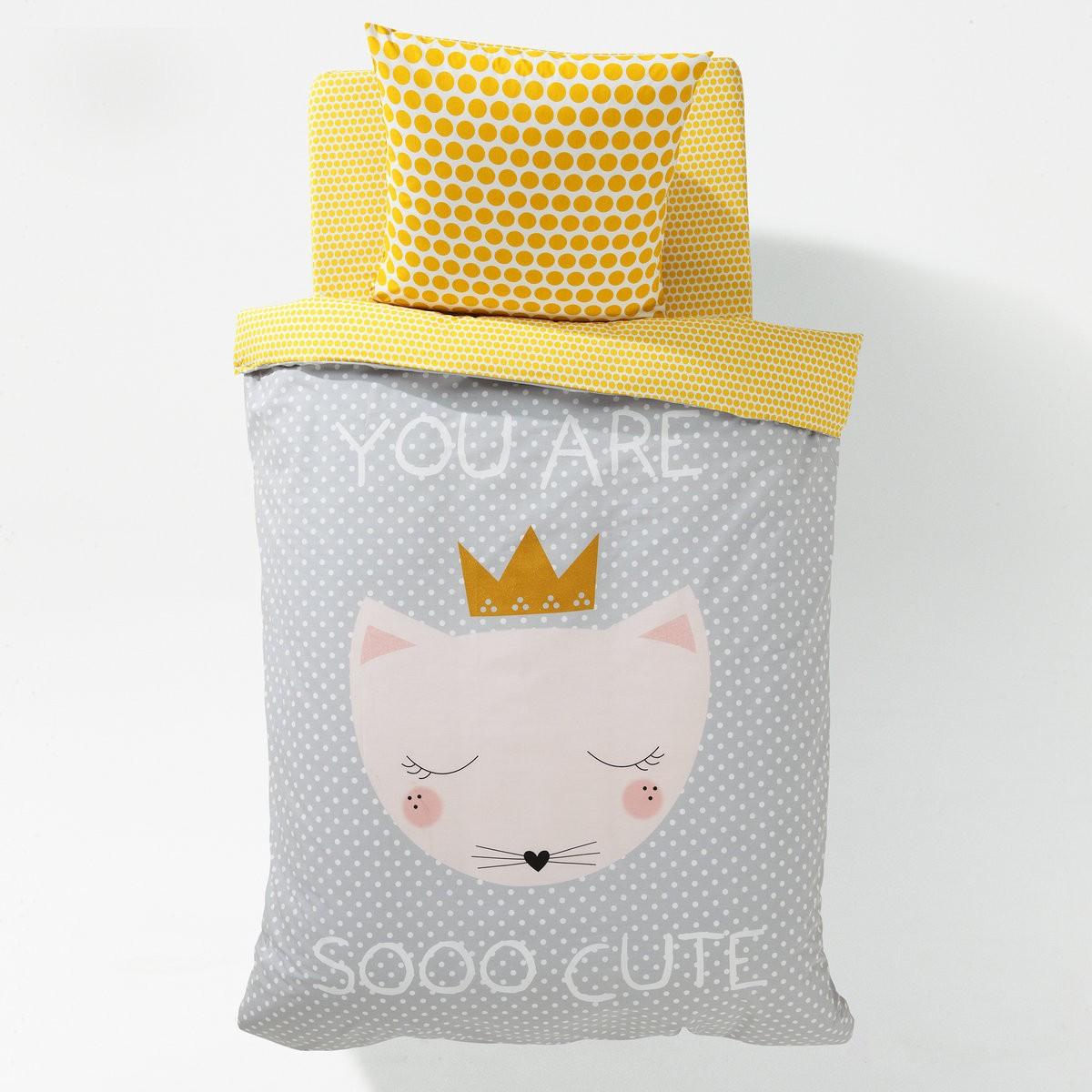 copripiumino-orsetto-letto-singolo-bambina - NinaKina