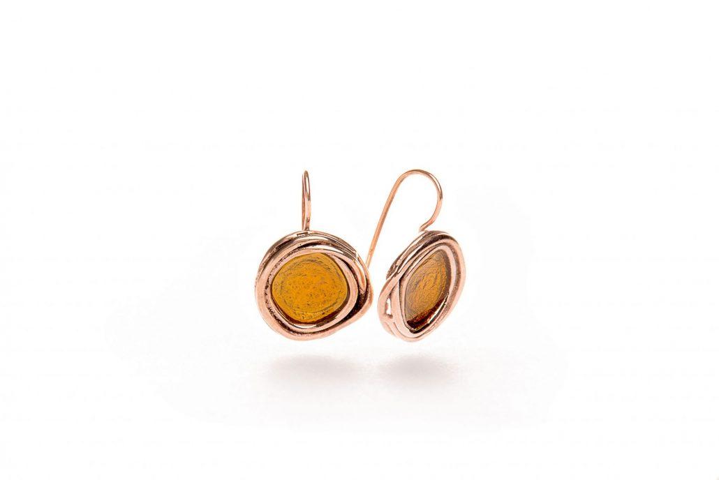 orecchini-artigianali-bronzo-miele