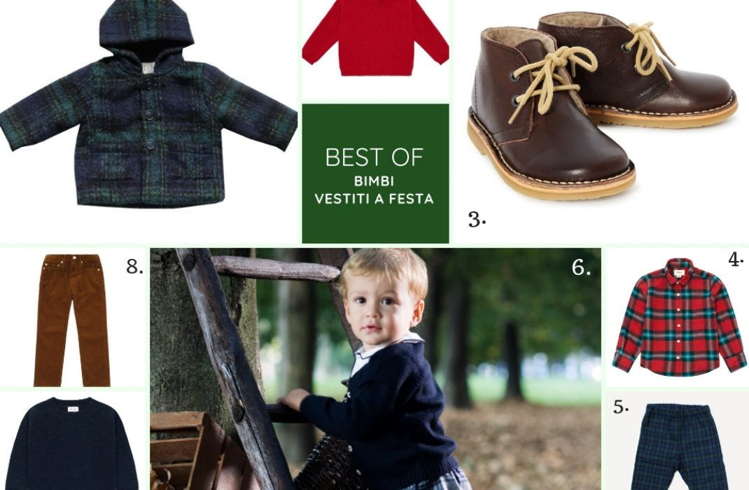 BEST OF: COME VESTIRE UN BAMBINO A NATALE