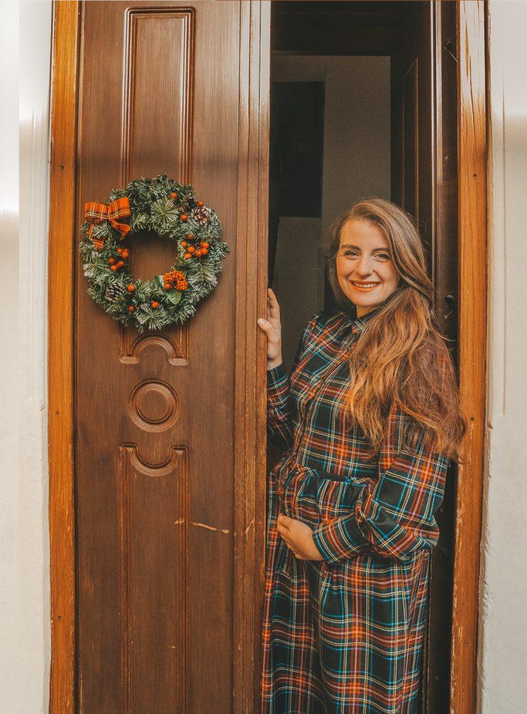 blog-terza-gravidanza-abiti-premaman-tartan