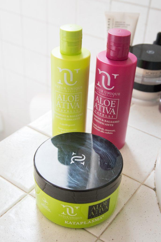 prodotti naturali capelli secchi