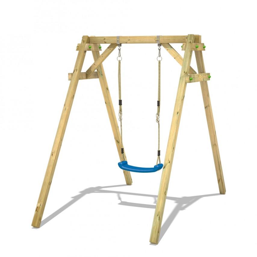 altalena legno wickey per bambini