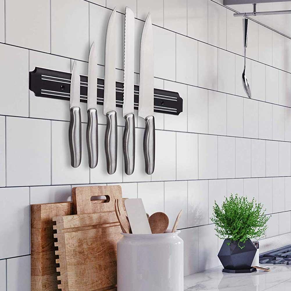 barra magnetica per coltelli cucina