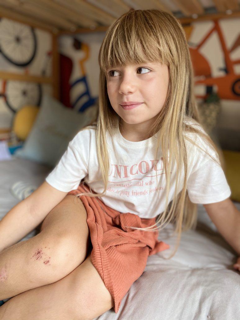 abbigliamento per bambina cotone biologico marchio kiabi