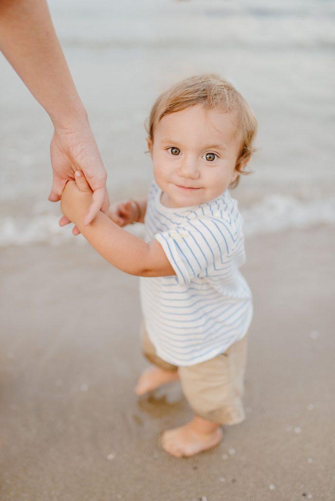 servizio fotografico neonato al mare in abruzzo