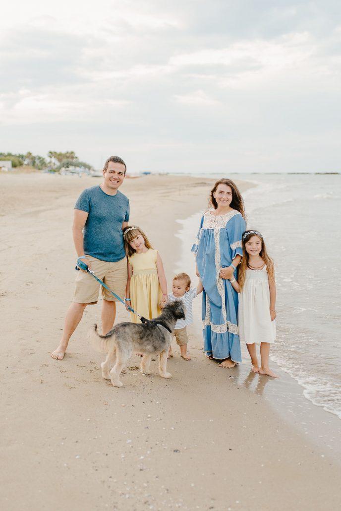 shooting di famiglia al mare in abruzzo